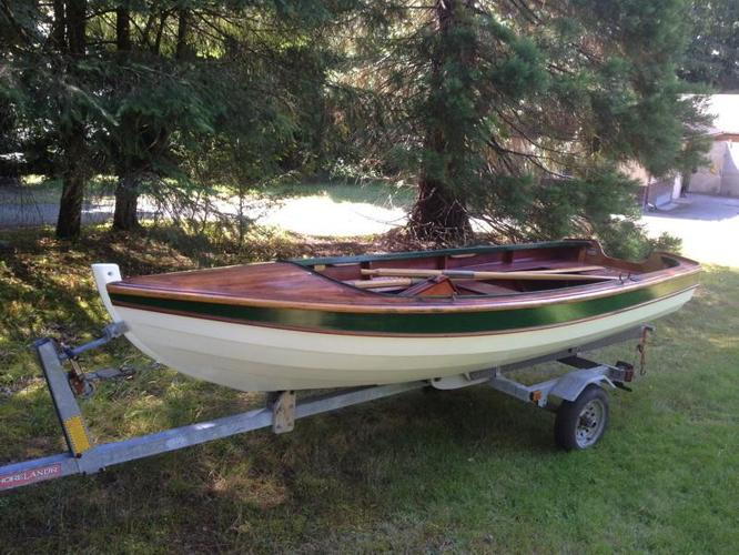 OBO - Clinker Built Sailing/Rowing/Motor Skiff