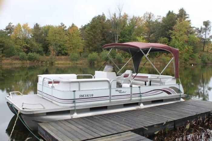 Used pontoon boats for sale in ontario waterfront