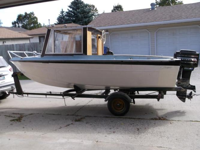 Project boat for sale.