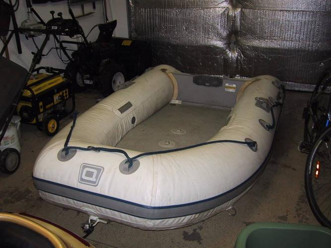 Quicksilver Zodiac Raft