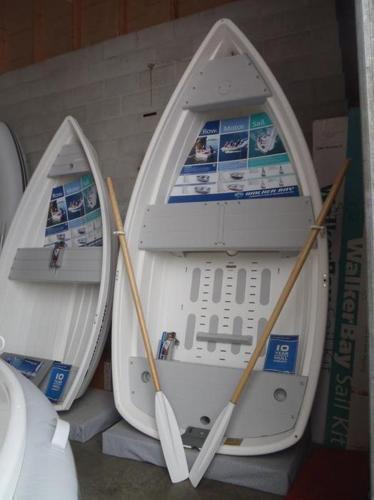 RIGID DINGHY, WALKER BAY 10 WITH GRAY SEATS