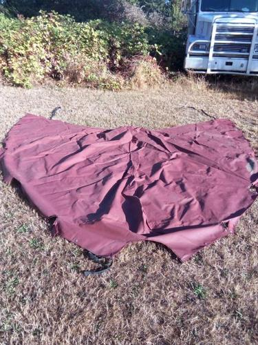 Sailboat gangway cover/Dodger used cover only