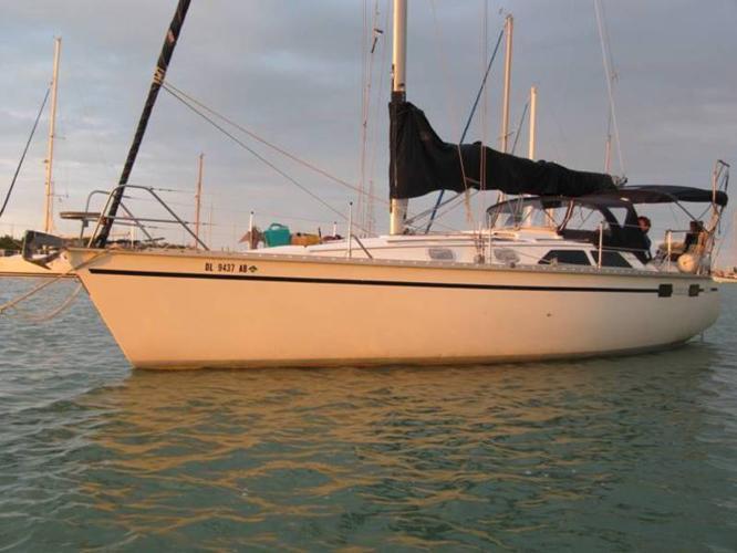 Sailboat Hunter Legend 35.5