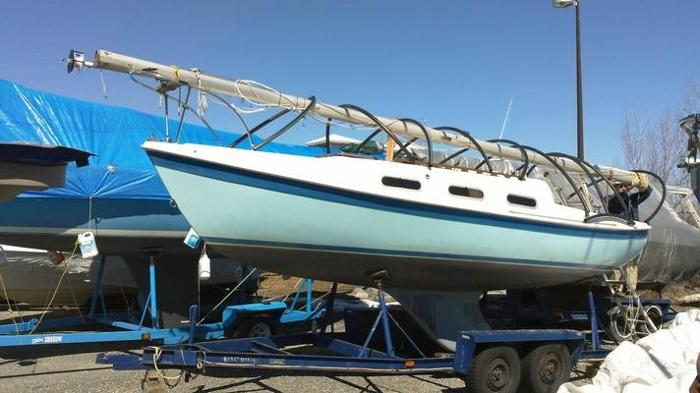 Tanzer 22 Sailboat and Trailer for sale