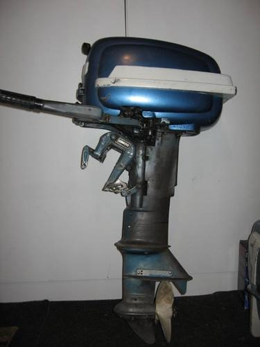 Two Vintage Outboard Motors For Sale In Cobourg  Ontario