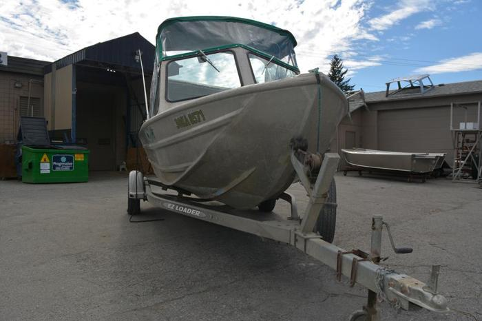 Used Eagle Craft Aluminum Boat