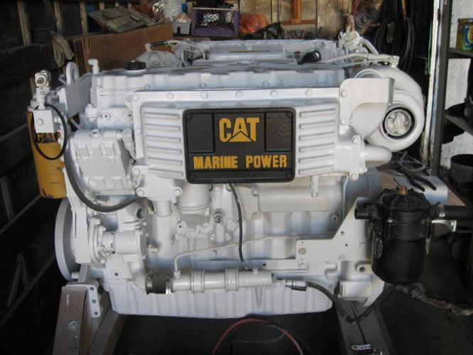 WHITE 2006 CAT C9 MARINE DIESEL ENGINE for sale in Coquitlam, British Columbia - Used boats for you