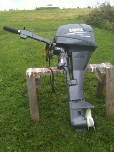 Yamaha 9 9 hp four stroke extra long shaft 25 electric for Long shaft trolling motor for sale