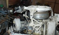 Older 10hp Johnson outboard, runs, I have replaced the propeller shaft/ forward - reverse- pinion gears/ shaft seal/ water pump(spare impeller)/ rebuilt carburetor,fuel pump/ replaced float bowl and filter/ remanufactured F-N-R lever, new fuel lines,
