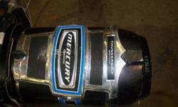 115 hp Mercury boat motor for sale, in good running condition. Not sure of the year, I think its in the 70's. Asking $1100 phone 250 547 6937