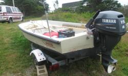 1981 Boston Whaler Sport with 2004 15 hp 4-stroke Yamaha outboard & 2006 Loadrite Trailer Trades welcome 13' Boston Whaler also available. Graham at 483-3000 or 889-3722 www.atlanticrv.com
