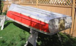 12' Aluminum Boat $350 Call 250.579.0193