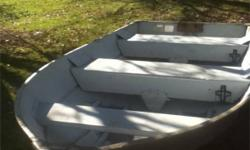 I have a 12 foot aluminum boat for sale. Its a Sea Nymph 12k Aluminum . 15.5 inches deep at transom, 20 inches deep at center, 56 inches wide at center beam. Great boat for back lakes, very light and easily transportable. Sorry motor no longer available.