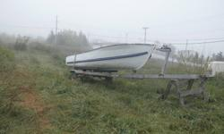 For sale a 12 foot aluminium boat and galvanized trailer.... Boat don't leak and trailer in really good shape.... 1200.00 o-n-o.. Thanx