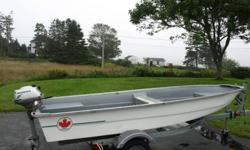 For Sale 12 foot boat and 2 hp honda motor-4 stroke . excellent condition. TRAILER NOT INCLUDED