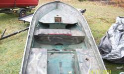 12ft fiberglass boat for sale  $300  to day  if you email me please leave your number