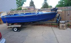"I purchased this fishing boat with my friend last year as a fun ""fixer-upper"" project. The previous owner told us it was built in the 1980's and am pretty sure the motor is vintage. We took it out for a test drive in Fall 2015 and although it performed"