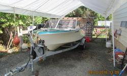 -13 ft Hourston Glasscraft -2006 ez loader trailer -2002 25 hp Yamaha 4 stroke outboard w/p tilt -New --- -plug's ,wires, - oil ,leg oil -rectifier& regulator - ignition coil ,fuel pump,plunger cap, - carb cleaned and reamed out idle jet for better flow