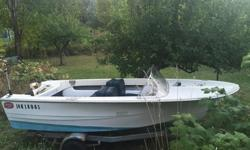 This is a 14.5 ft Double Eagle Boat that has been restored, has new sleeper seats, new curved windshield, redone inside , very seaworthy Hull that would be good for the Lake or Ocean, Would make a great fishing boat , Comes with a trailer , I have