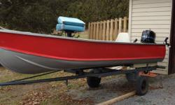 Motor is a 6hp evinrude fisherman everything works perfect! Must sell ASAP 1200 Obo or trade? 613 827 0609 This ad was posted with the Kijiji Classifieds app.