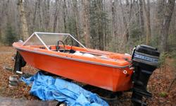 Good fishing or water skiing boat. Needs some repair on seats otherwise great value.