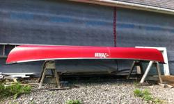 "15'-6"" Pelican Canoe fro sale, Made of Ram-x plastic, 1 year old and used a dozen or so times, has some scratches along the keel from use, no paddles, and I can deliver in the Shubie to Truro area."