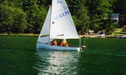 15' Albacor sailboat for sale. Sails and rigging in very good shape, sailed since 2000 every summer on Glenmore and trailered out to Vancouver Island for eight years for vacation. Trailer included, road ready, good tires. Asking $ 1,300.00. Call 403