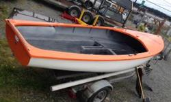 15' Albacore Sailboat only NO trailer. Complete with 23 ft mast, rudder, dagger board and sails. New paint. Solid boat no rot! $999.00 Michael Coast Mt Truck & Marine 955 Crace St Nanaimo 250.754.7615 or toll free 1.888.754.7615