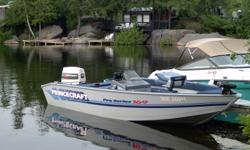 1994 - 169 Pro Series PRINCECRAFT with 60Hp Johnson Boat/Motor/Trailer in excellent shape and I am the second owner of this package. This boat has never sat outside in the summer, always garage kept and always stored indoors for winter. Matching bunk