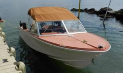 Obo.1979 boat with a 99 115 Johnson ocean pro with about 400 hrs, Evinrude 9.9 with charging system and electric start. Fast boat that handles well, new hydraulic steering, dual batteries with switch , wired for electric downriggers . Bought a bigger