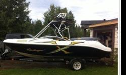 2004 Sea-Doo challenger. 250 hp, 20' boat with wake tower. comes with life jackets, wake board, wake skis, knee board, ropes, and all required safety equipment. all you need is water and some friends.