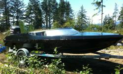 I have my 16' Cobra speed boat for sale. This boat was my summer project but lost interest and looking to sell. Motor runs fine, and can be seen running at the location. Details: 150 Johnston Fast Strike purchased from advantage marine. 1998 Galvanised
