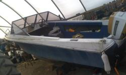 I have a 16' fiberglass boat in good shape with a 55hp and 2 seats runs mint just didnt use much this year and no longer have intrest in it, Make me an offer cash or trade looking for $1500 for boat motor and trailer may include brand new fish finder