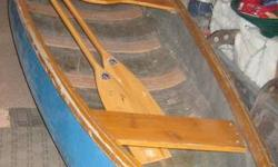 I am selling our 16 ft blue fibre glass canoe with 2 wood padels.  I is in great condition and we are hoping to find it a good home.   If interested please call Dee at 403-609-8303.