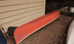 16 FT. EQUINOX FIBERGLASS CANOE. 38 INCH BEAM. OVERALL GOOD CONDITION. DOES HAVE A SMALL PATCH. DOES NOT LEAK. COMES WITH 2 PADDLES. SELLING BECAUSE I HAVE TOO MANY THINGS THAT FLOAT. LOCATED IN LADYSMITH