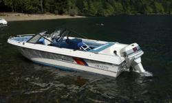 Great for tubing and fishing at the lake or in the ocean for trolling. 2 manual down riggers inc / electronics / etc. Boat / motor / trailer.