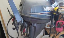 16ft older tinny Raden model, older trailer but very road worthy, 15hp yamaha, 4 stroke, electric start, like new less than 100 hours, shift on handle, new gas tank and hoses, new operators clamp on seat, oars Great Lake Boat Package