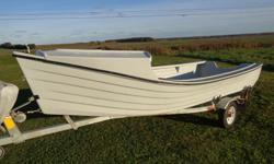 new fiberglass dorie, 16ft.