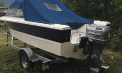 1989 17 1/2 foot Double Eagle 2000 115 Johnson outboard 2015 Road Runner trailer Dual batteries Dual bilge pumps Lots of extra