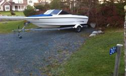 2003 17.5 ft bayliner low hours, one owner. great shape. 3.0 merc, 135hp may trade on travel trailer. asking $8900. call 456-7245.