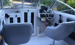 2004 , 18/2 Malibu cuddy , 135 hp Mercury Optimax , with 9.9 four stroke kicker , the unit comes with sport trim tabs , gps , depth sounder , vhf radio , compass , stereo and two Scotty down riggers