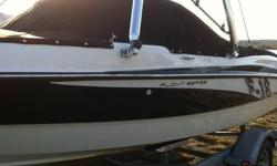 2011 BAYLINER 18.5' SPEED BOAT, F15 FLIGHT SERIES SPORT MODEL, WAKE TOWER, SOUND SYSTEM, EXTENDED SWIM PLATFORM, 4L MERCRUISER FOUR STROKE INBOARD, BIMINI SUN COVER,. THIS IS AN AWESOME BOAT AND WILL DO 50 MPH ON PLANE.   ALSO COMES WITH A KNEE BOARD, A