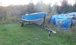 18' Aluminum Prince Craft Boat - in great shape, new floor, very wide and deep, new trailer, 30 HP Yamaha 94-95, works great, very dependable.  Compression 120 each cylinder   $5000.00 obo   (902) 899-1130 (day) (902) 897-0905 (evening)