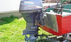 selling our moose hunting boat, used it all last fall, comes with 2001 yamaha 30 hp four stroke, electric start, hummingbird fish finder, heavy duty ez loader trailer, 14 inch tires. Bilge pump, has a load capacity 0f 1630 lbs, two gas tanks, goes 29 mph