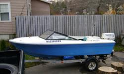 Boat's in very good condition, works great for water skiing and tube toweing seats 6 passengers.Comes with ownership papers, for more information contact Rodney 902-356-2203
