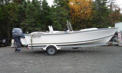 2004 Ocean Fisher Boat, 2004 90HP 4 Stroke Yamaha Motor, 2004 Shorelander Trailer. The boat is a center console that was custom built by Yates Boat building with extra foam flotation. All in great condition with less then 100 hours on the motor. There is