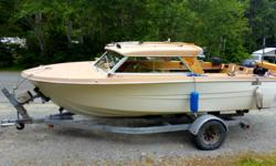 REDUCED to $10,000 Power AQ140 Volvo 280 Leg 9.9 Yamaha 4 Stroke Roadrunner Trailer VHF Radio Alpine Stereo Solid Boat Ready to Fish Very Safe Boat