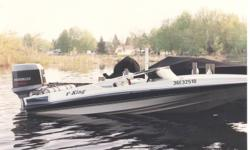 1989 Hydrosteam V-King, 140hp Evinrude outboard. Comes with Easy Loader roller trailer, stainless prop. Must sell as one unit. This boat has had very little use over the years and is in showroom condition.