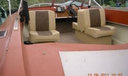Power tilt , fishfinder , U-built trailer , very solid . Trade to off-road car or RV