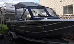 115 hp 4 str 9.9 4 str yamaha power tilt electric start gps fishfinder uhf radio 150 hours ezload trailer trim tabs